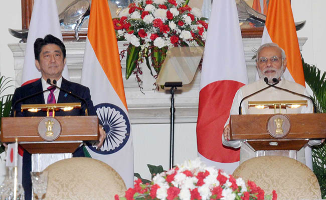 India, Japan ink pacts on bullet train, nuclear energy