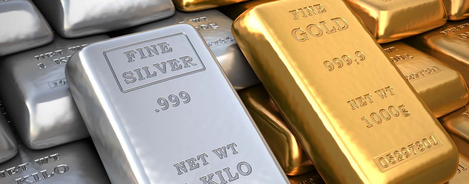 Gold, silver climb on global cues