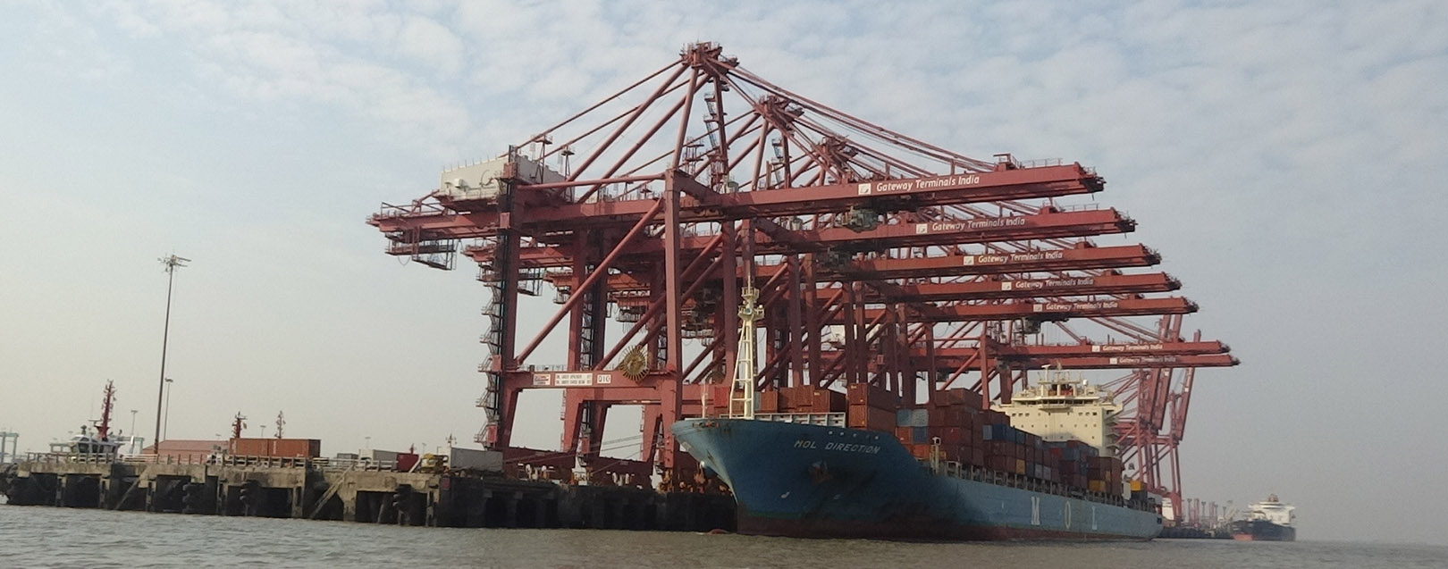 Congestion grounds export consignments at Gateway Terminals India
