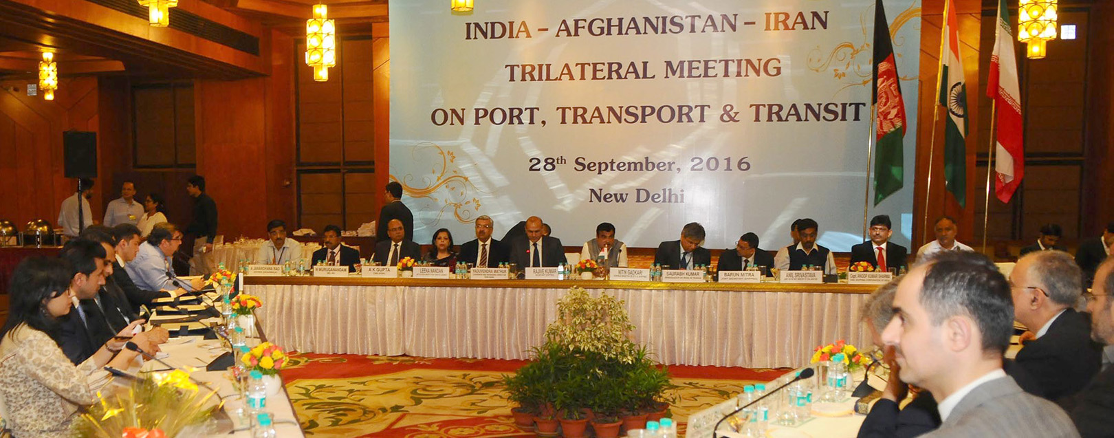 India holds trilateral discussions to bolster Chabahar Agreement