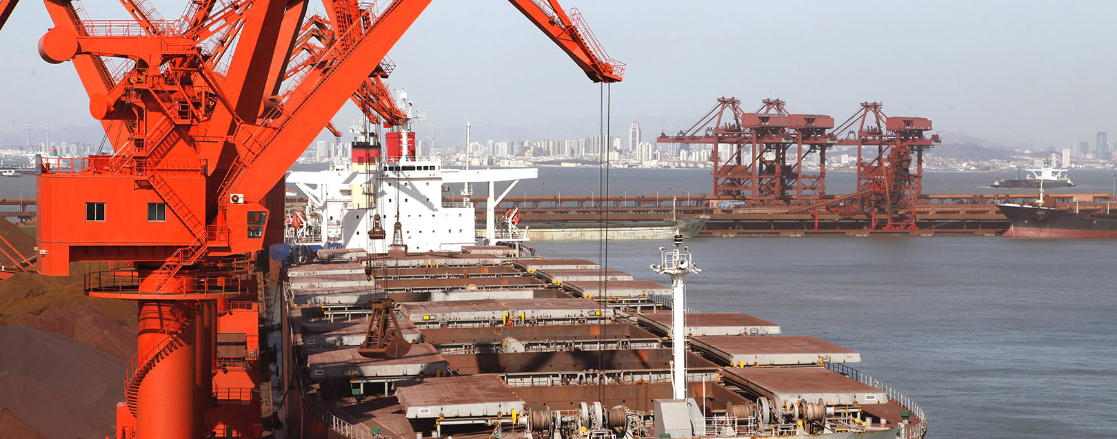 India's iron ore imports ease, exports rise on policy support