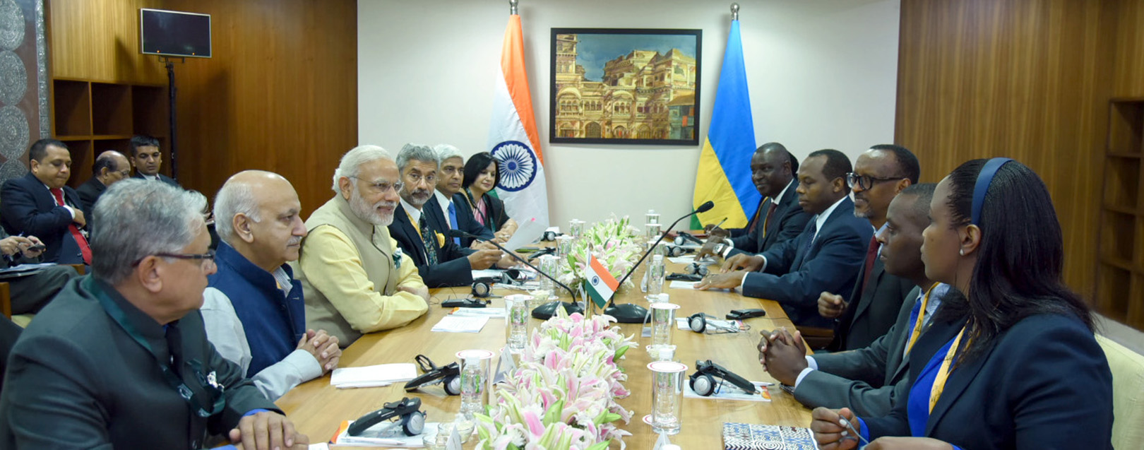India to give $3 mn grant, $81 mn credit to Rwanda