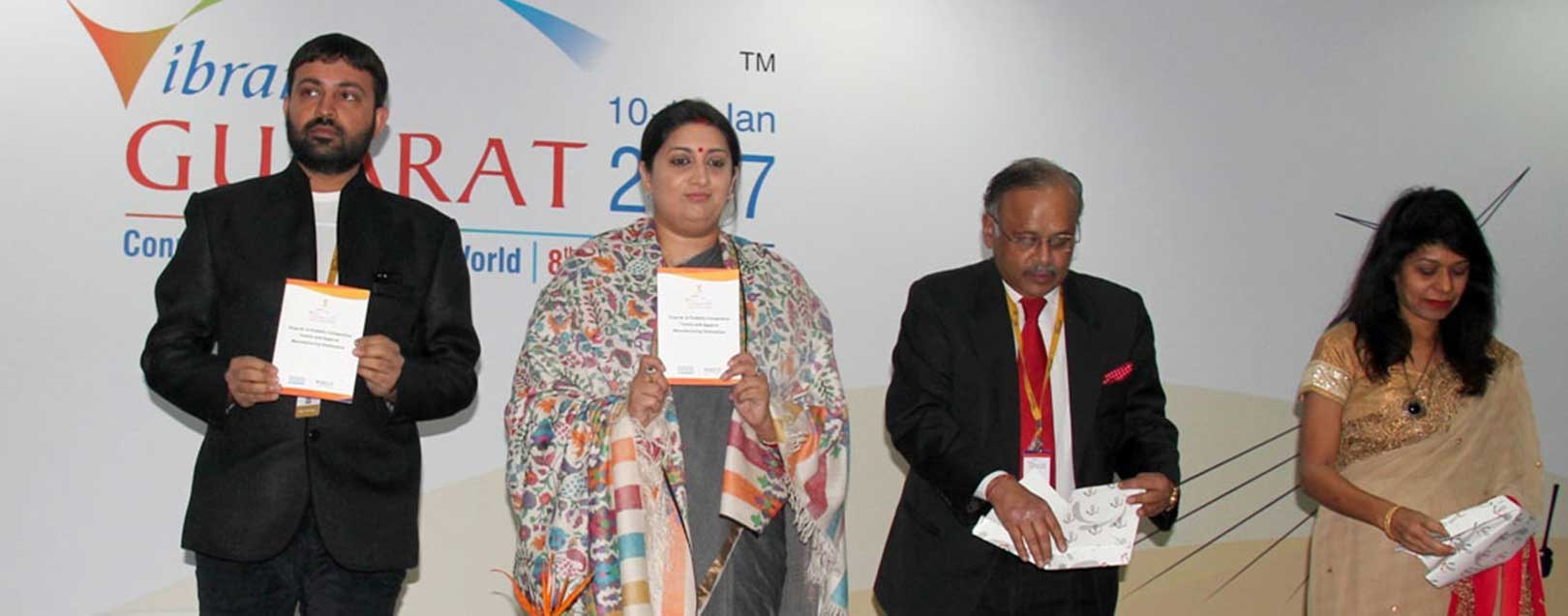 MoUs worth Rs.8,835 cr signed in textile sector during Vibrant Gujarat