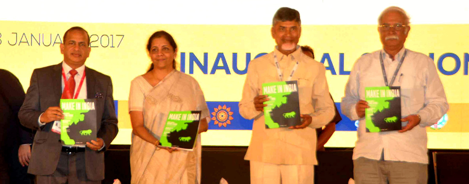 AP Summit boasts 4.25 lakh crores worth MoUs on day-1
