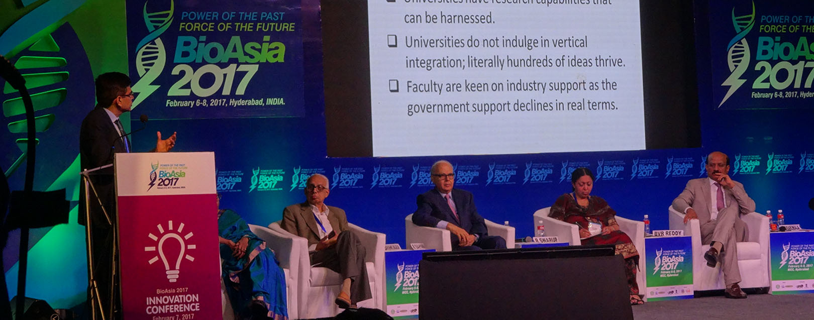Bio Asia 2017: Power of the past, force of the future
