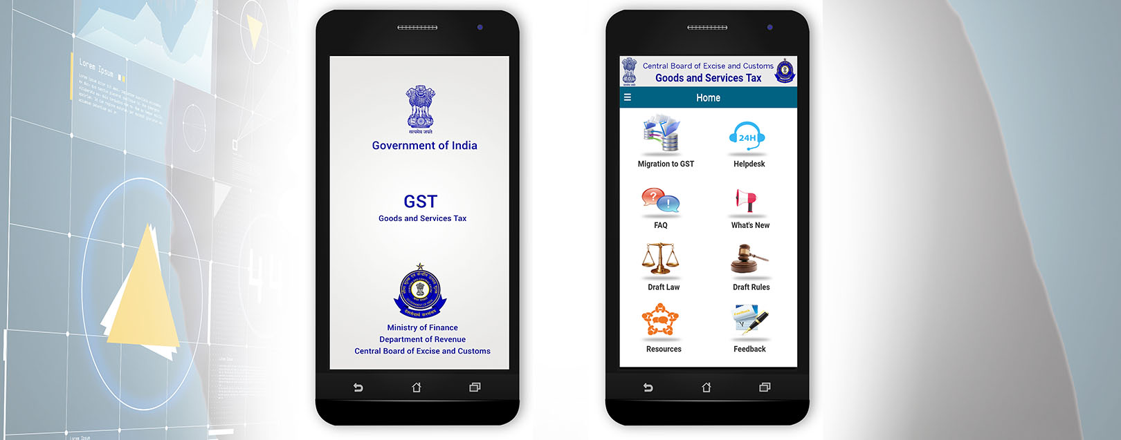 CBEC launches Mobile App for GST