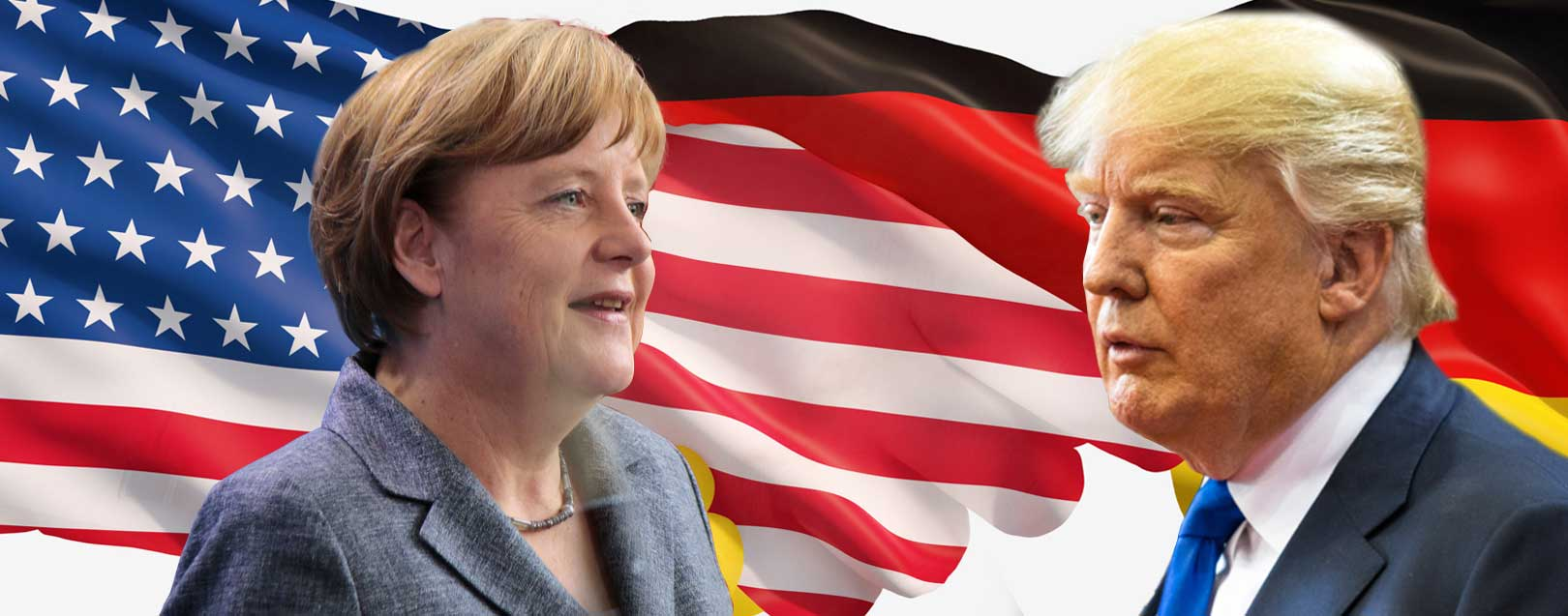 Trump holds talks with Merkel, says he is not an isolationist