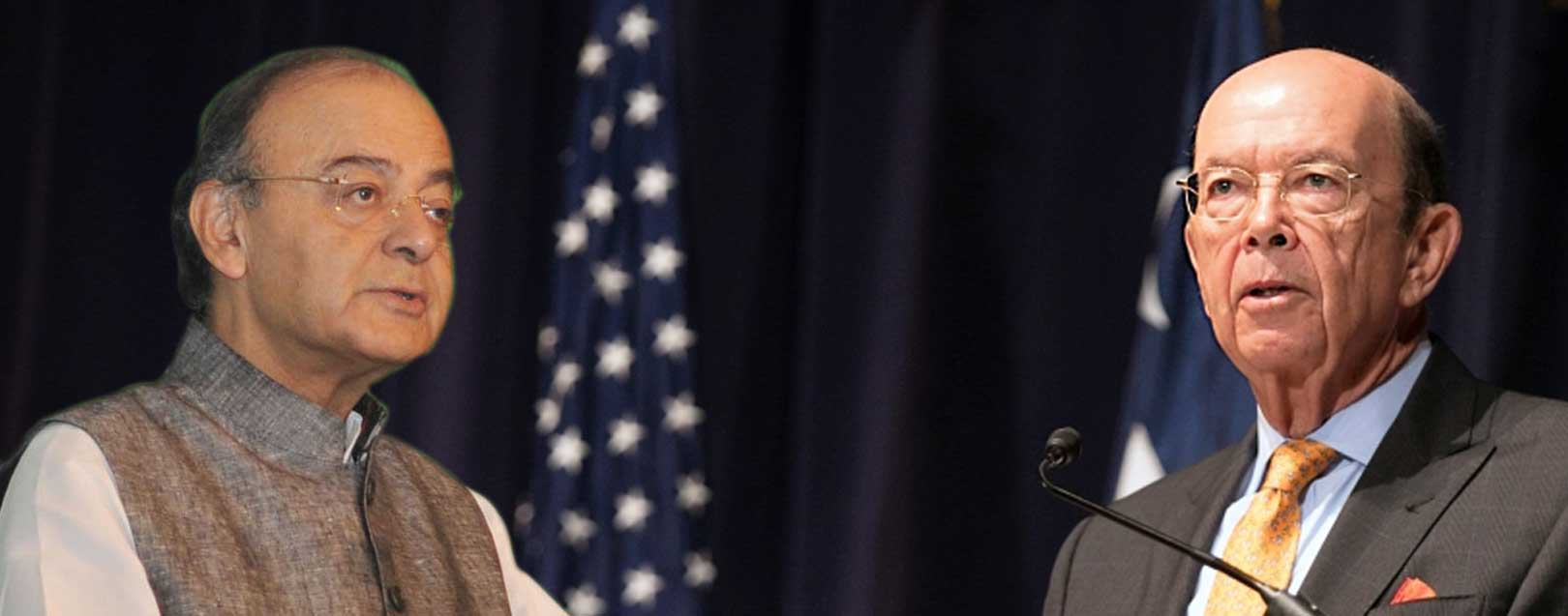 Jaitley takes up H-1B visa issue with US Commerce Secretary