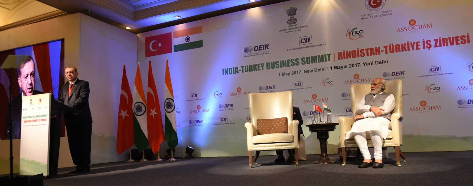 India-Turkey review trade and security agreements
