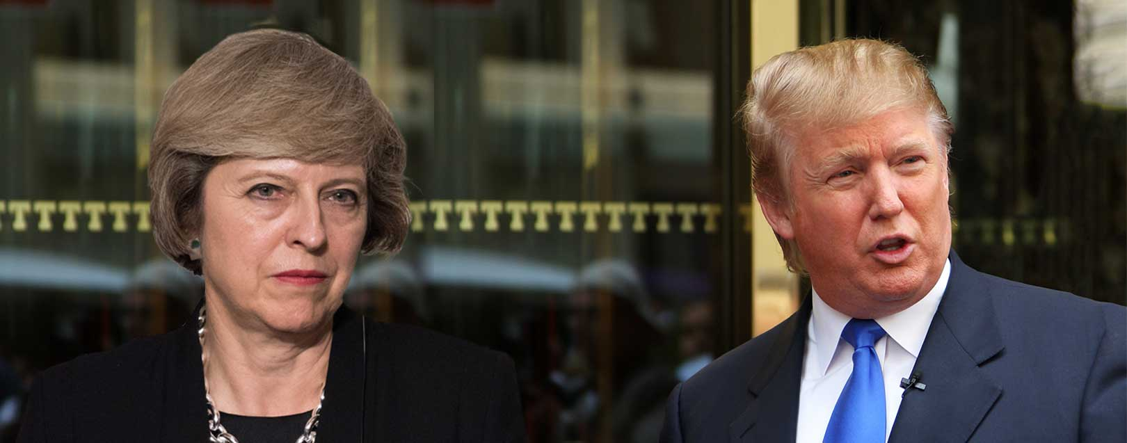 Trump and Theresa agree to increase trade between the two countries