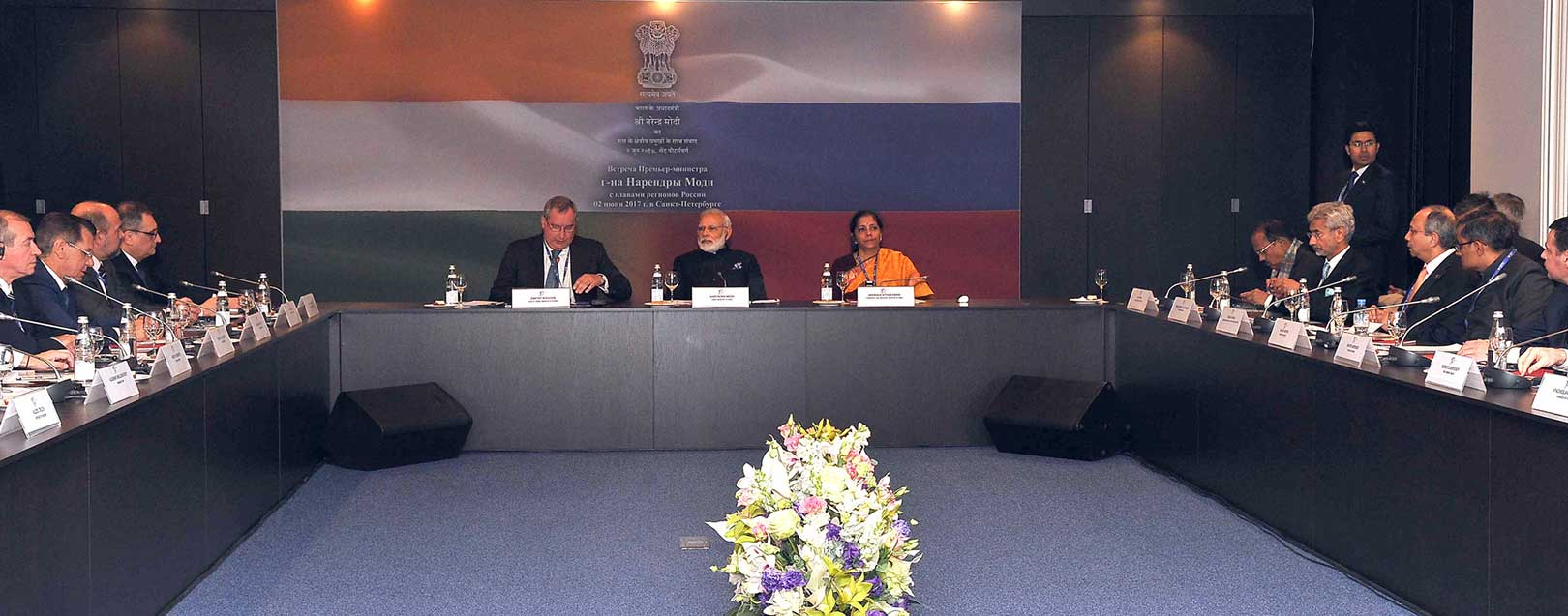Modi the first PM to meet 16 governors of Russian provinces