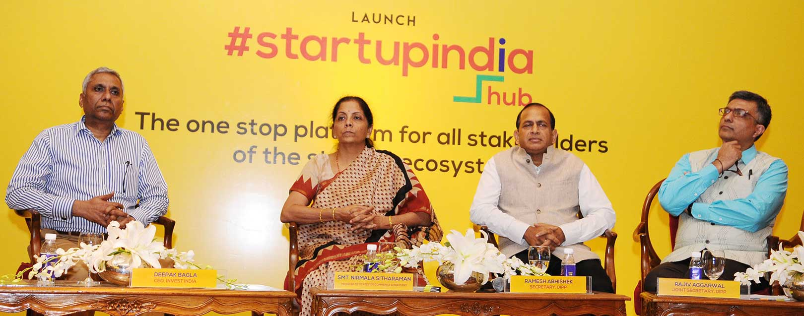 Startup India hub launched by Sitharaman, promises Startup exchange prog among SAARC countries