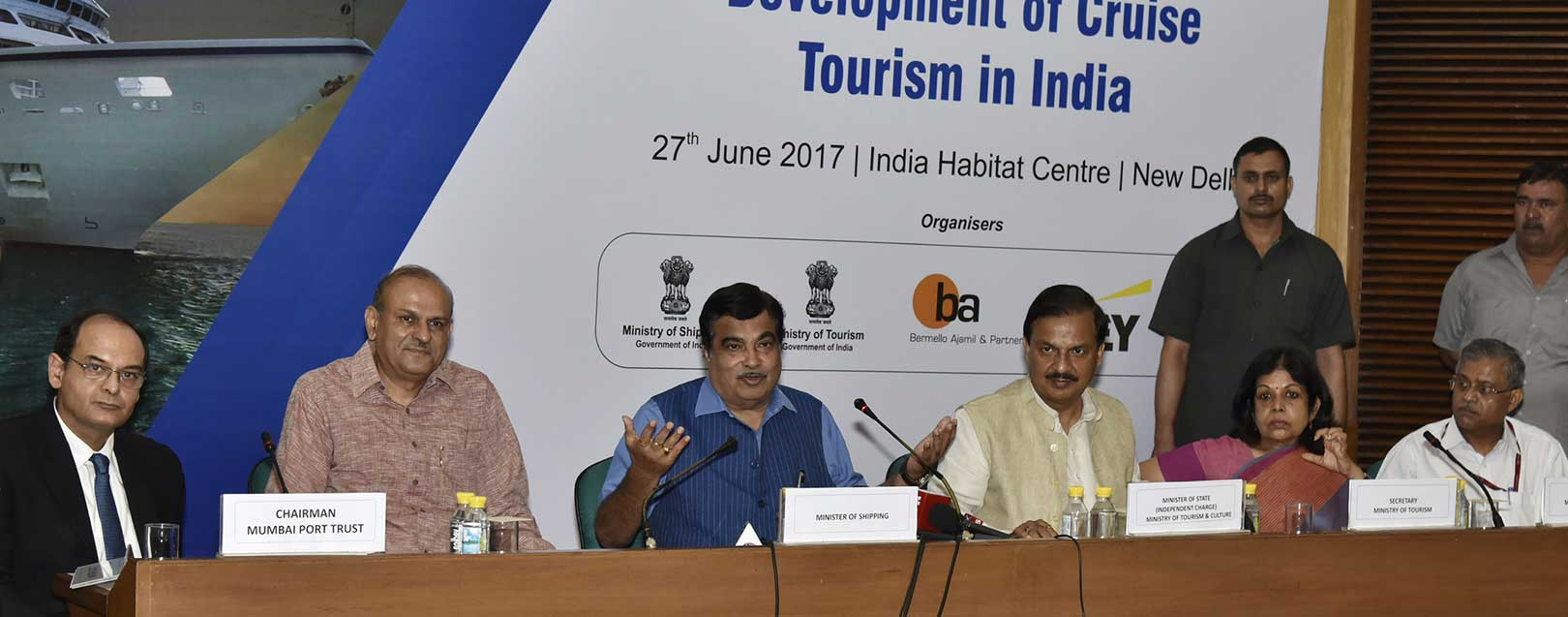Cruise tourism can be a major growth driver for Indian economy, Gadkari