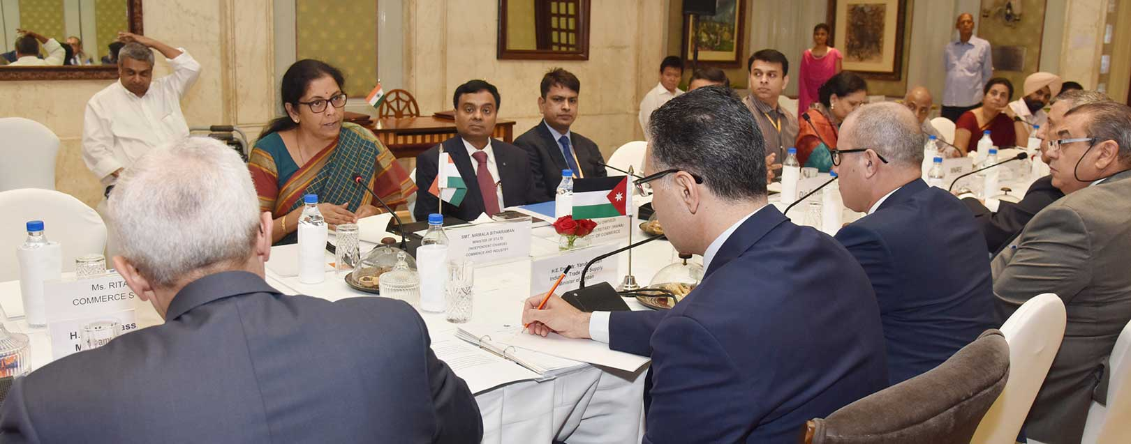 India and Jordan ink the revised Economic and Trade Cooperation Agreement