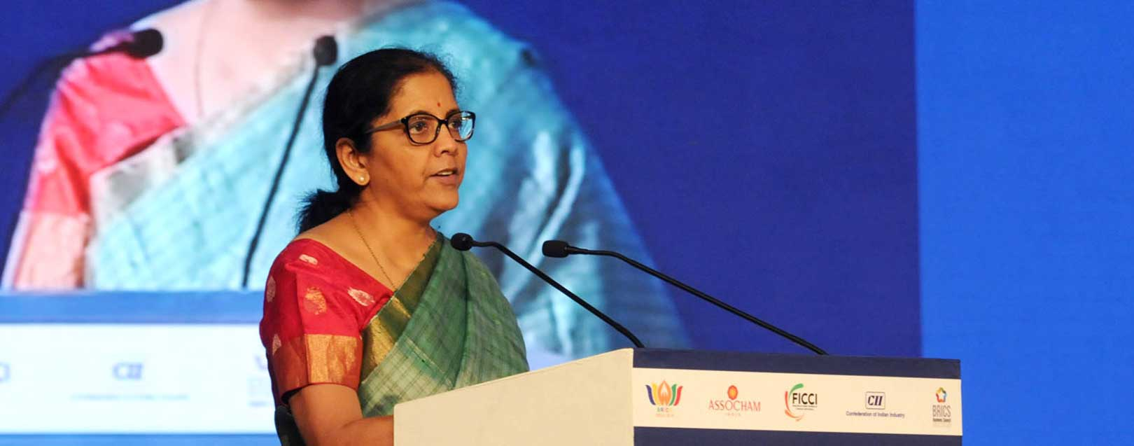 Sitharaman in Shanghai to attend BRICS trade ministers meet