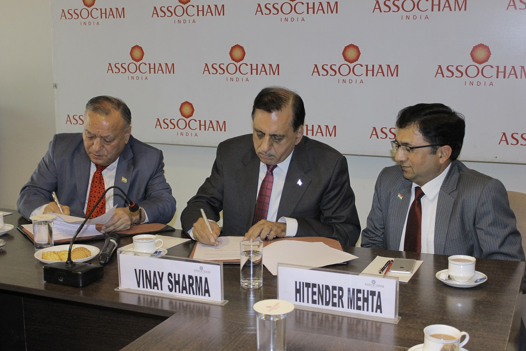 EPCES, ASSOCHAM sign MoU on mutual collaboration and information sharing