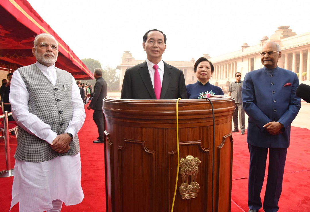 Vietnam President invites Indian businesses to invest in his country