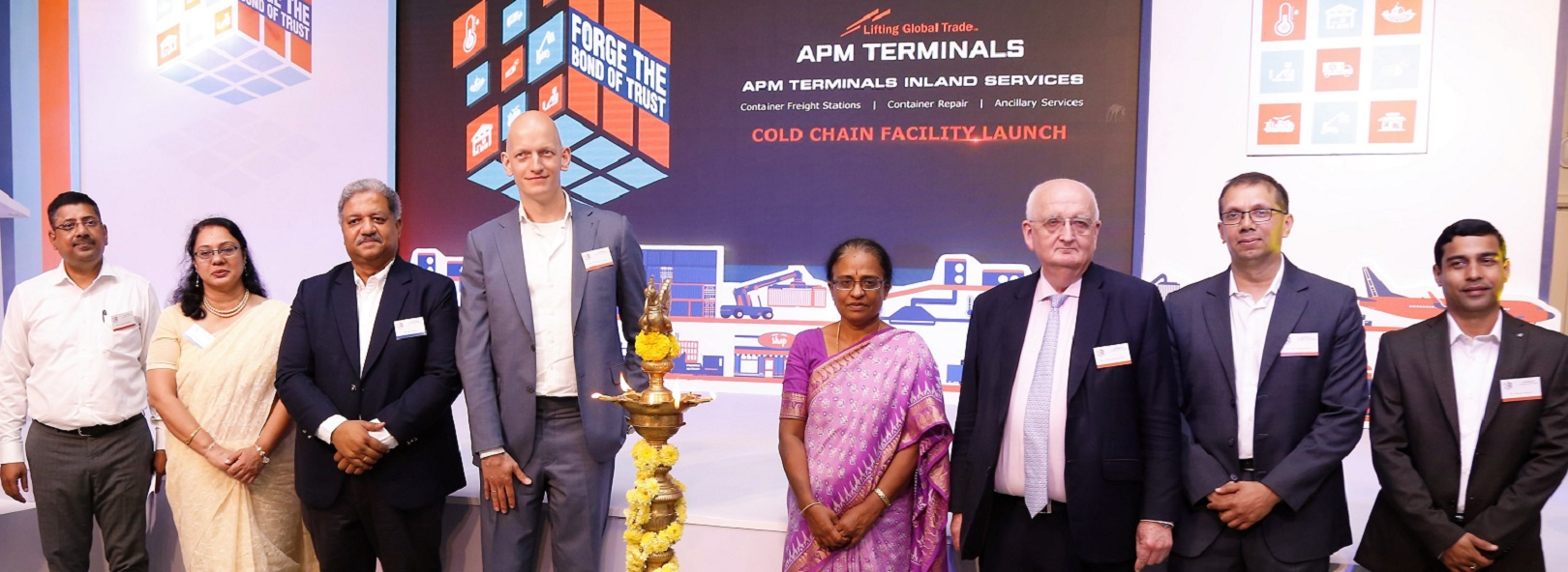 APM Terminals launches integrated cold chain facility in South India