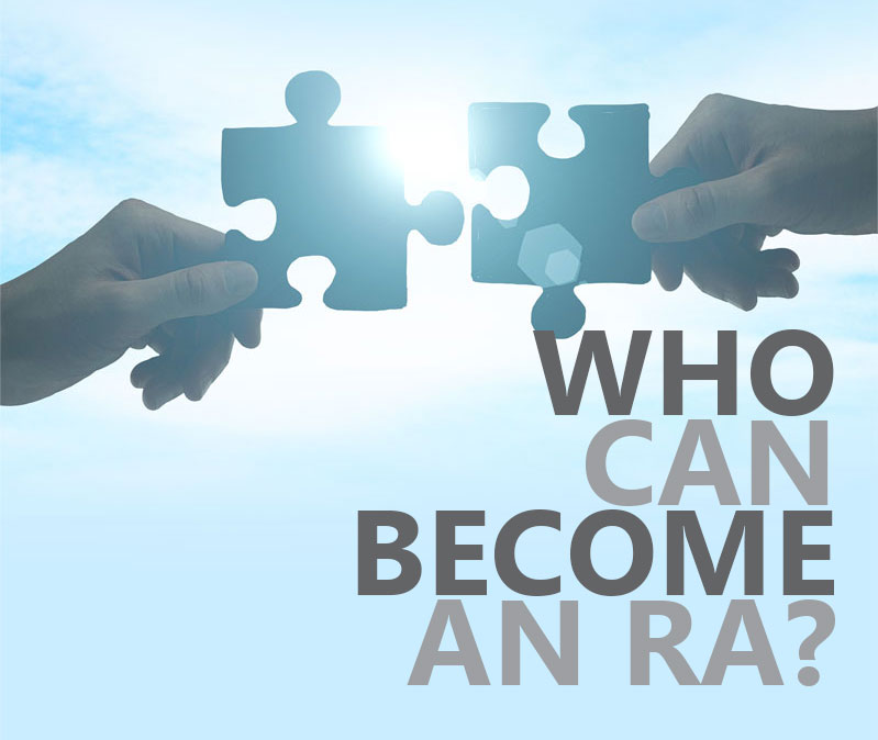 Who can became a ra