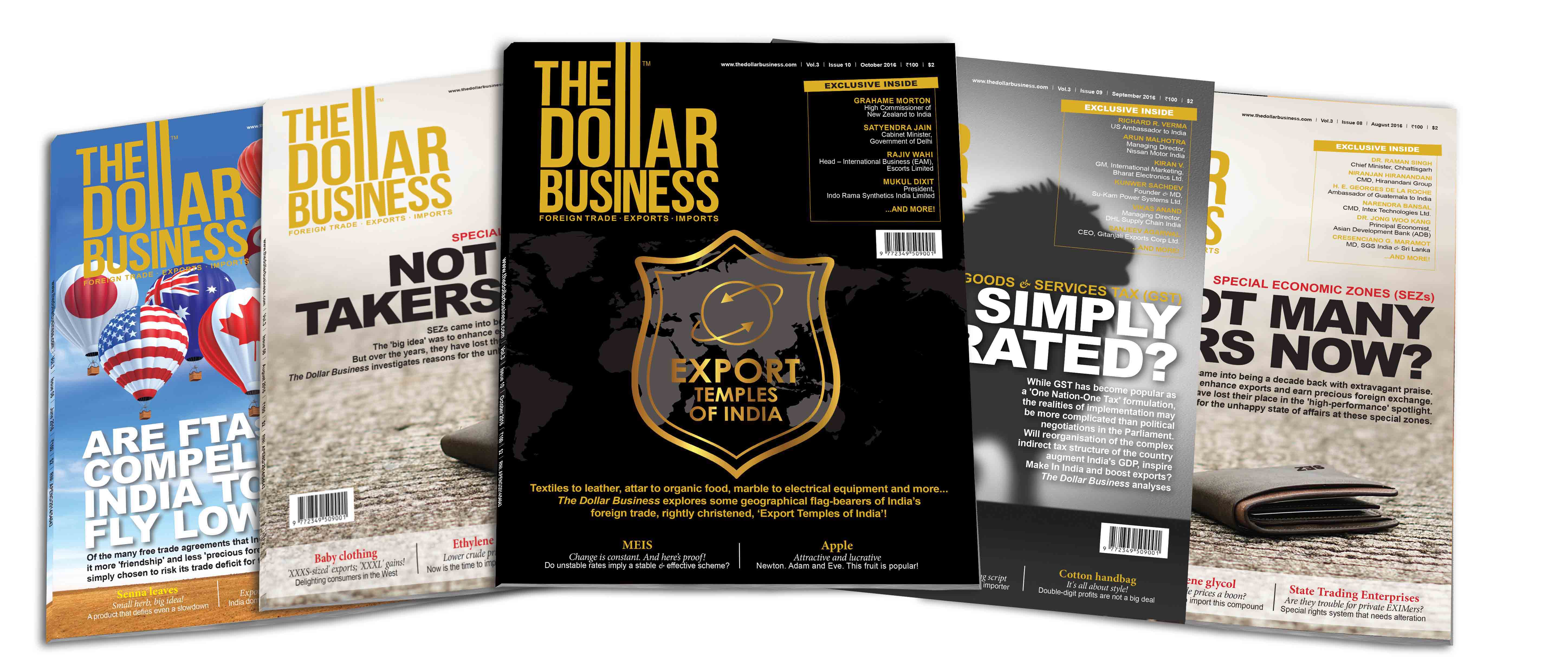 Magazine Import and Export India